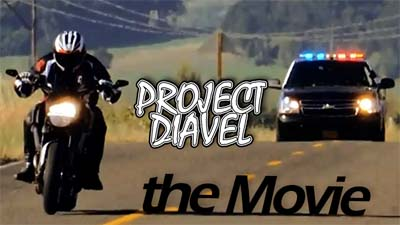 Video -Project Diavel: The Movie - Police Chase with Ducati Diavel