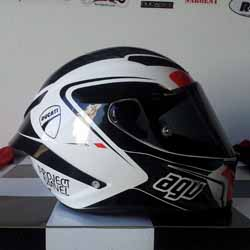Project Diavel: AGV Corsa Circuit - Right Side - April 2015