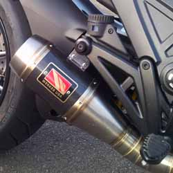 Project Diavel: Competition Werkes Carbon Fiber Exhaust - March 2015