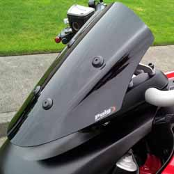 Project Diavel: Puig Sport Model windscreen - April 2015