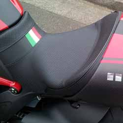 Project Diavel: Sargent World Sport Performance Seat, left side - April 2015