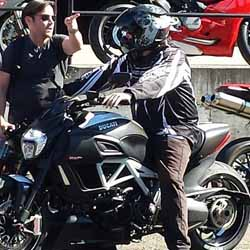 Project Diavel: Test Ride at MotoCorsa - October 2014