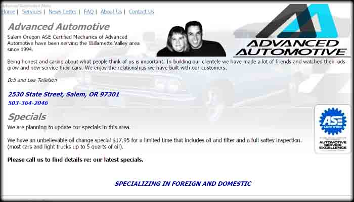 Advanced Automotive Site