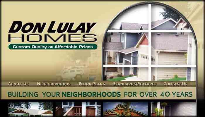 Don Lulay Homes Site